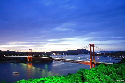 bridge japan night nagasaki 長崎 hirado tabira 平戸 平戸大橋 hiradobridge 田平公園