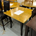 Restaurant/Cafe table zebrano wood