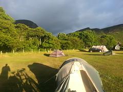sunny Lochranza Camping