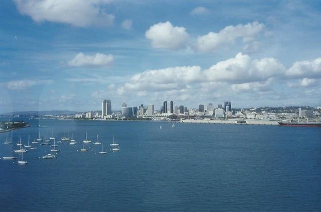 Vista de San Diego/View of San Diego, California, USA - www.meEncantaViajar.com
