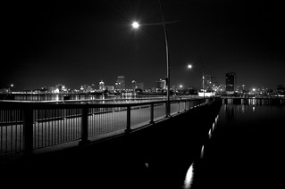 Walkway lights BW | by pawansw