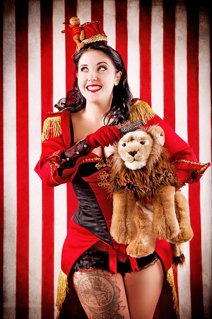 Burlesque Circus: The Lion Tamer