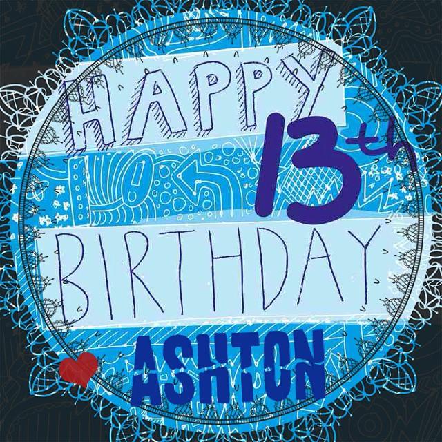 Happy 13th Birthday To My Nephew Ashton