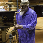 The Pharoah Sanders Quartet at Zipper Concert Hall, Saturday, November 15, 2014. Photos reproduced by Bob Barry's kind permission.