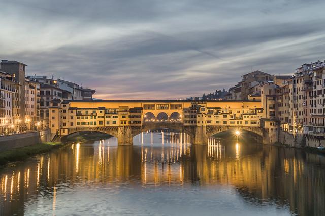 Bridge for Gold: Ponte Vecchio ( in explore )