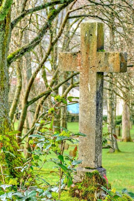 An Ancient Graveyard at Baden-Baden 02