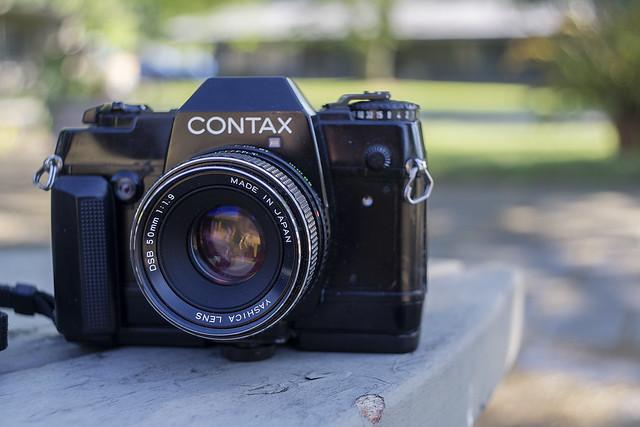 Camera Review Blog No. 43 - Contax 137 MA Quartz