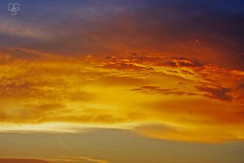 florida destin miramarbeach sky skyscape clouds cloudscape sunset palette colors