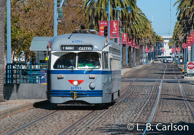 San Francisco Municipal Railway 1070