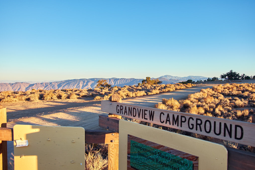 Grandview Campground, White Mountains, Inyo National Fores