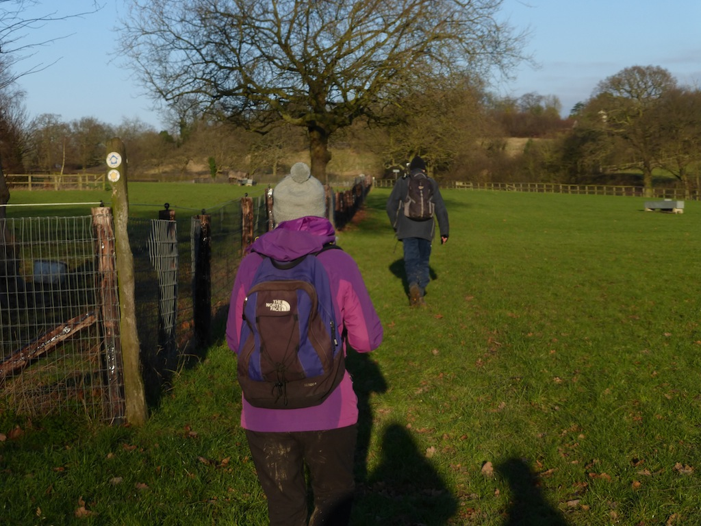 After lunch (para 45) Totteridge Circular walk