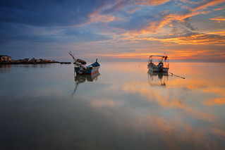 ...relishing their moment of glory | Sunset | by Keris Tuah