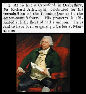 3rd August 1792 - Death of Sir Richard Arkwright | by Bradford Timeline
