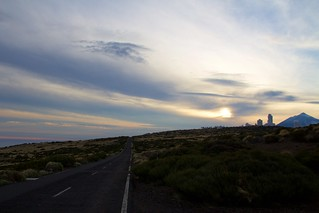 Sunset over Teide | by Ania Mendrek