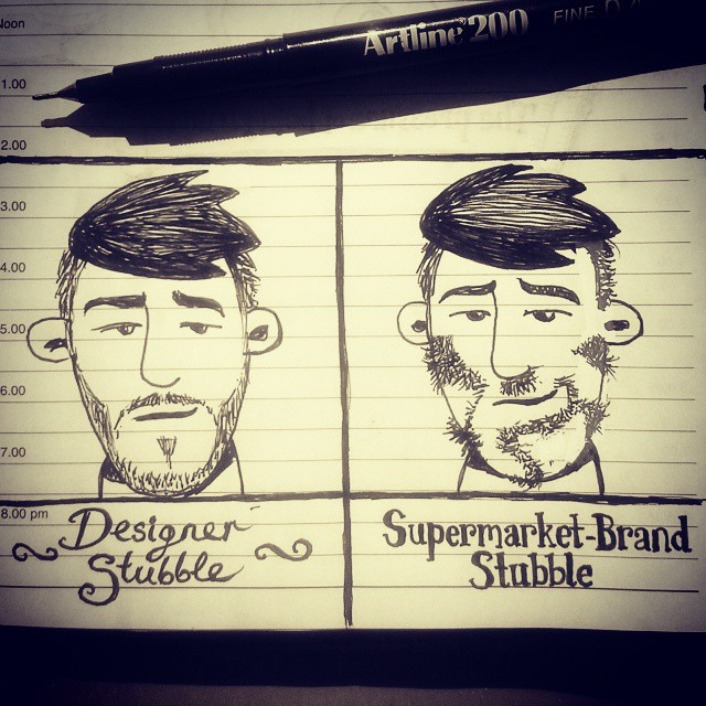 Hipster Art Drawings