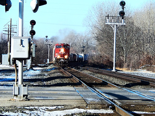 Canadian Pacific at Kendallville Indiana