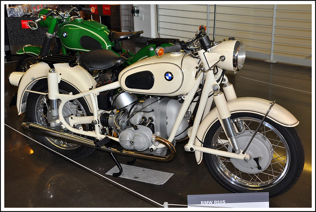 1962 BMW R50S Motorcycle