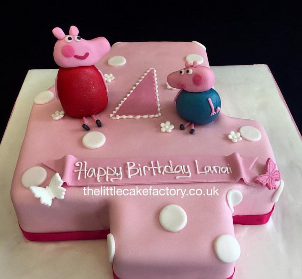 Fantastic Peppa Ping Number 4 Cake Peppa Peppapig Peppapigworld Flickr Personalised Birthday Cards Epsylily Jamesorg