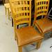 Natural pine kitchen chair