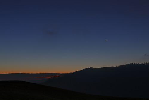 morning moon sunrise canon saturn hdr 3xp