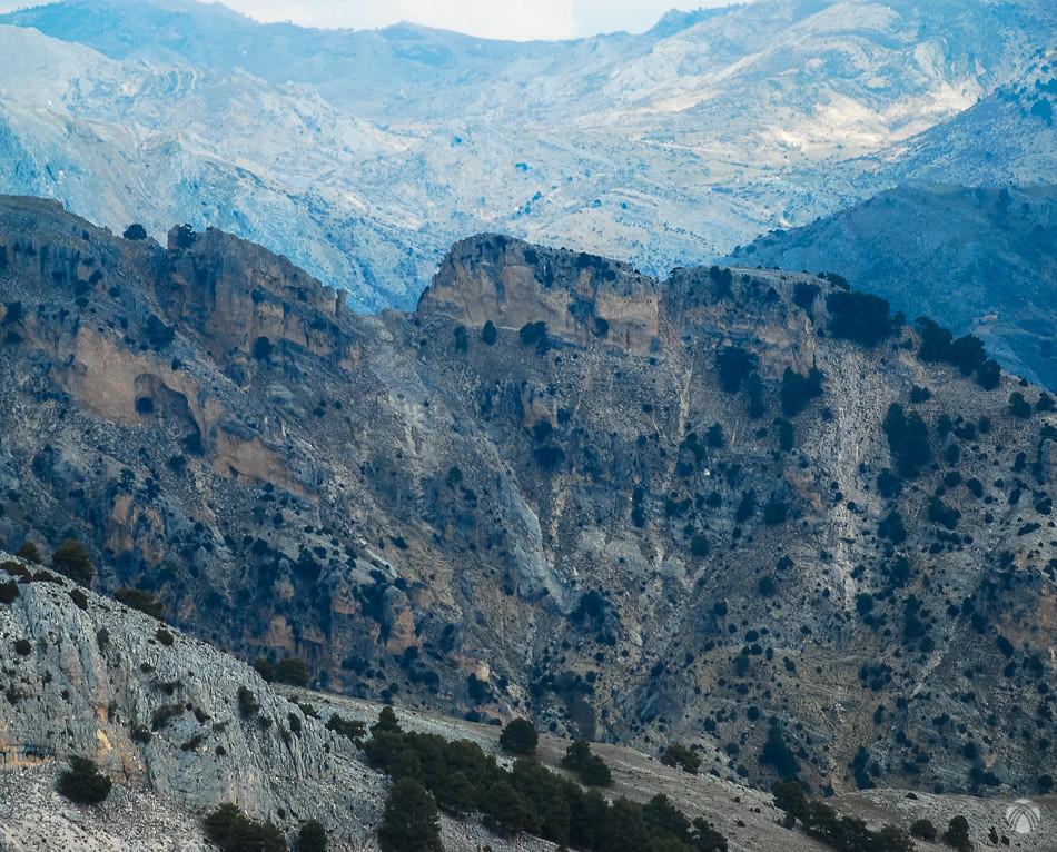 Imponente divisoria entre la Magdalena y el Charcón
