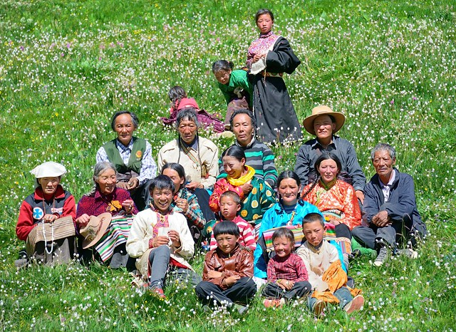 A summers breeze for the family, Tibet 2014