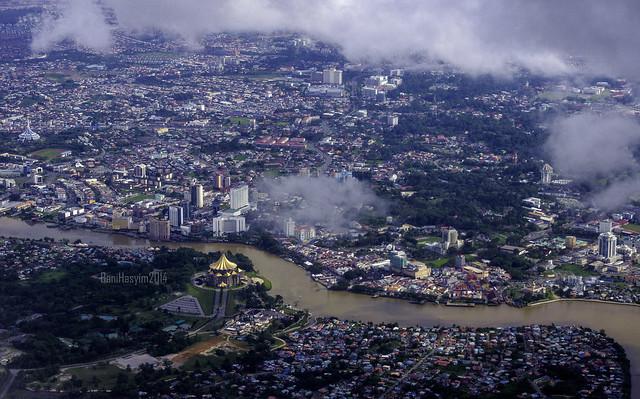 Aerail View Kuching,sarawak