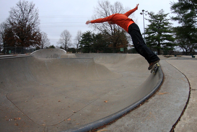 Alfred Crabtree, Two Rivers Skatepark, Nashville, Tennessee