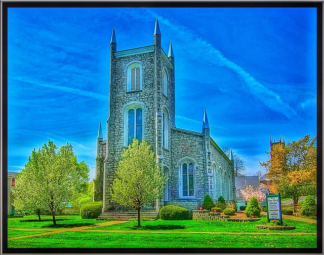 Lyons New York ~ Grace Episcopal Church Complex ~ Historical
