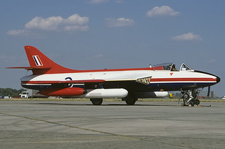 XE601 Hunter FGA9 A&AEE, MOD(PE) Boscombe Down | by Stuart Freer - Touchdown Aviation