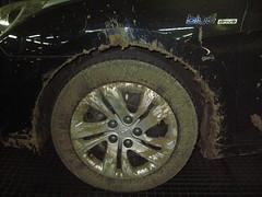 Limpieza de llantas. Hyundai Antes