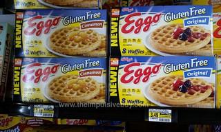 Kellogg's Gluten Free Eggo Waffles (Original and Cinnamon ...