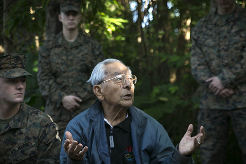 U.S. Army, Battle of Okinawa veteran visits cave where he saved lives