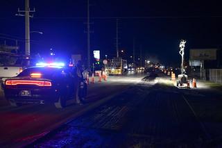 State Trooper - Roadworks in Marathon | by Tucpasquic