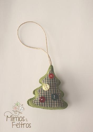 Pingentes de Natal   by Mimos e Feltros