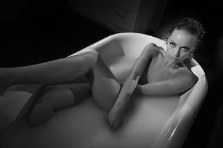 Rachel 'In The Tub' 4   by TJ Scott