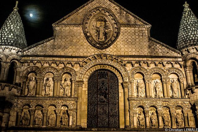 Poitiers (Notre Dame de la Grande sans sa colorisation)