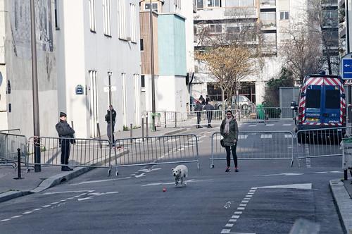 Hommage à Charlie Hebdo, Rue Nicolas Appert, 75011 Paris
