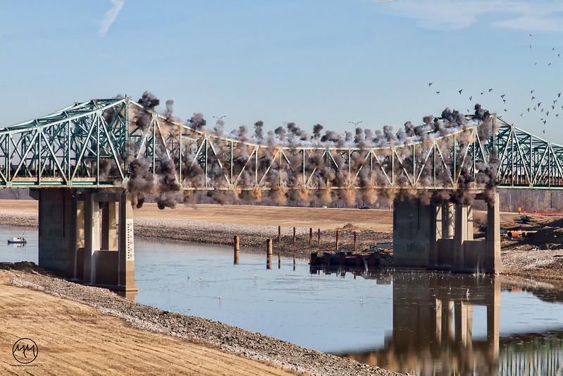 02 Chain of Rocks Bridge Demolition