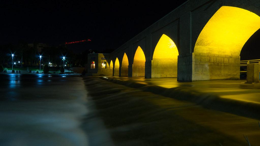 Pont de Joui à Ispahan