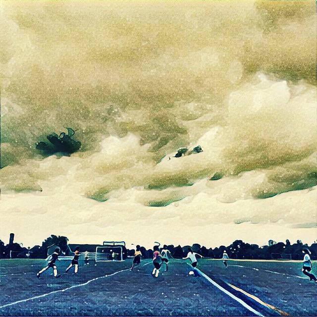 Saturday soccer.