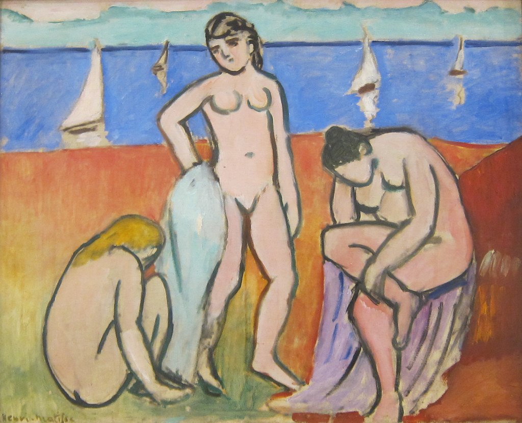 Henri Matisse, Three Bathers, 1907