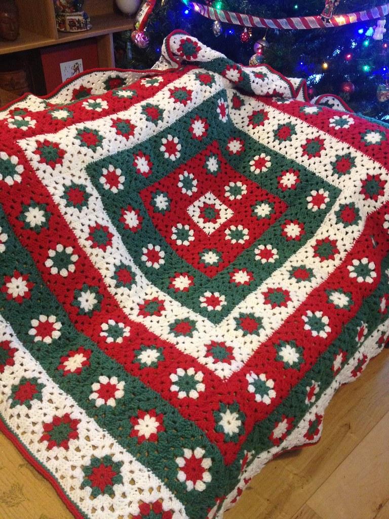Christmas Crochet Blanket Deirdre Walsh Flickr