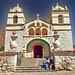 Peru, Colca valley,  Maca, Iglesia de Santa Ana