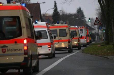 Dispositivo de evacuación en Dortmund