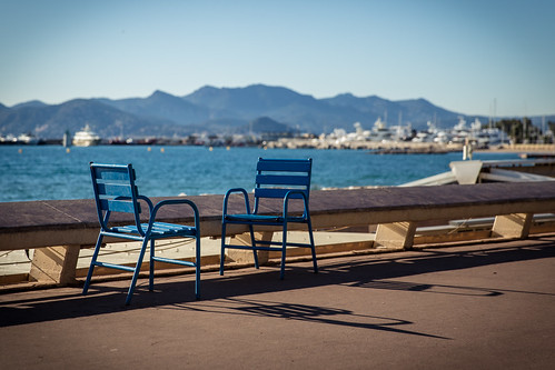 """The chairs of """"La Croisette"""" 