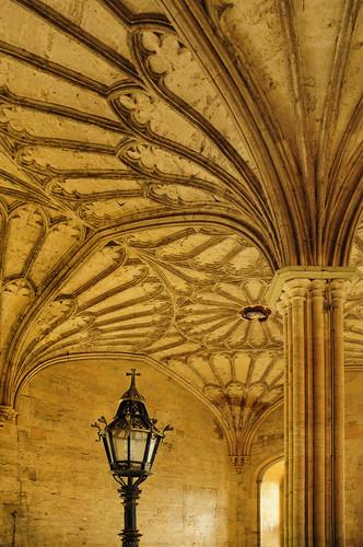 UK - Oxford - Christ Church College - Hallway vaulting 01_DSC3519