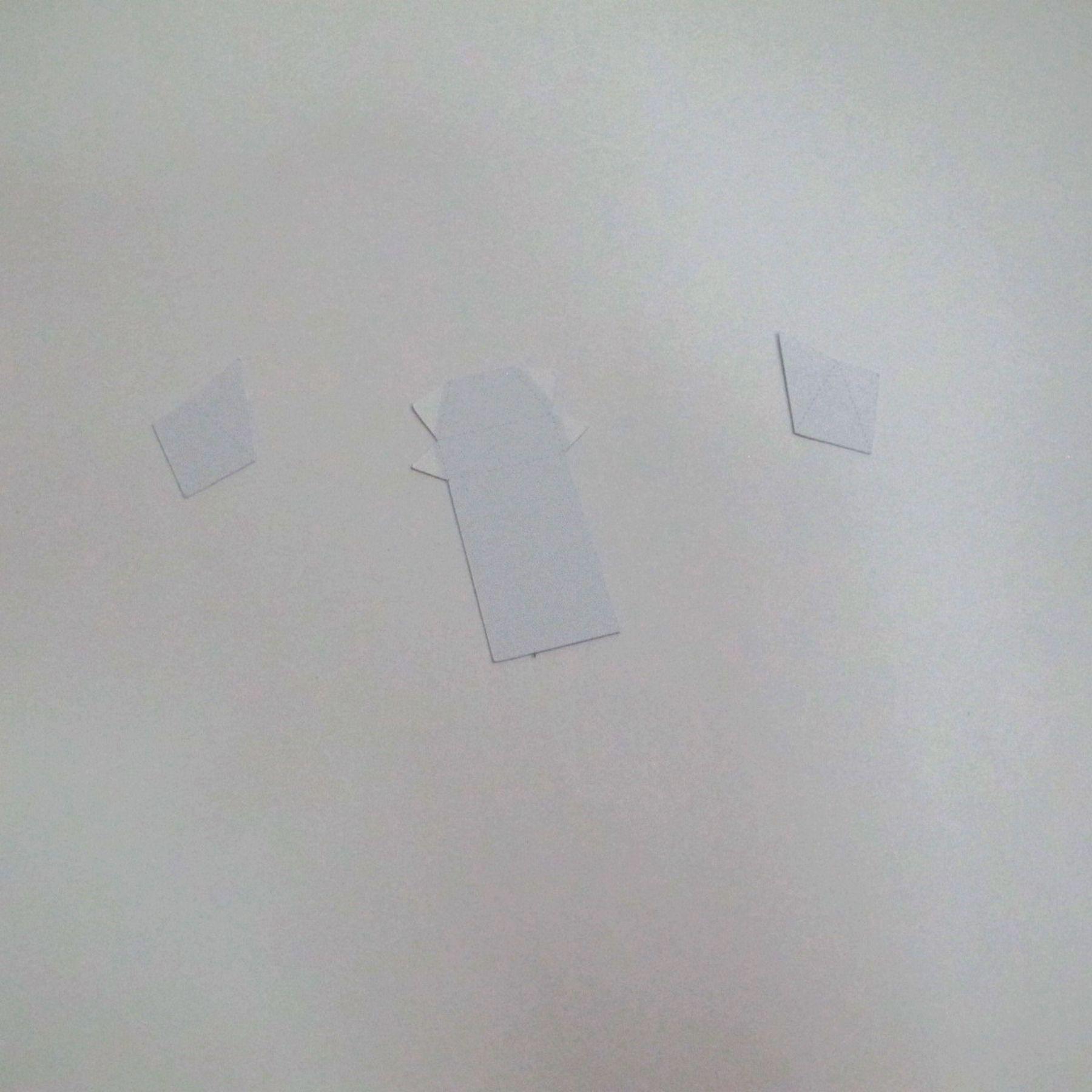 วิธีทำของเล่นโมเดลกระดาษ วูฟเวอรีน (Chibi Wolverine Papercraft Model) 018
