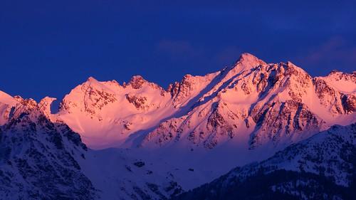 sunset sky mountain france montagne alpes grenoble de soleil horizon coucher belledonne chaîne isère