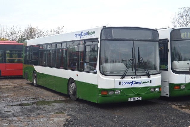 5385 WX: Harrogate Coach Travel t/a Connexions Buses, Green Hammerton (originally R83 EMB)